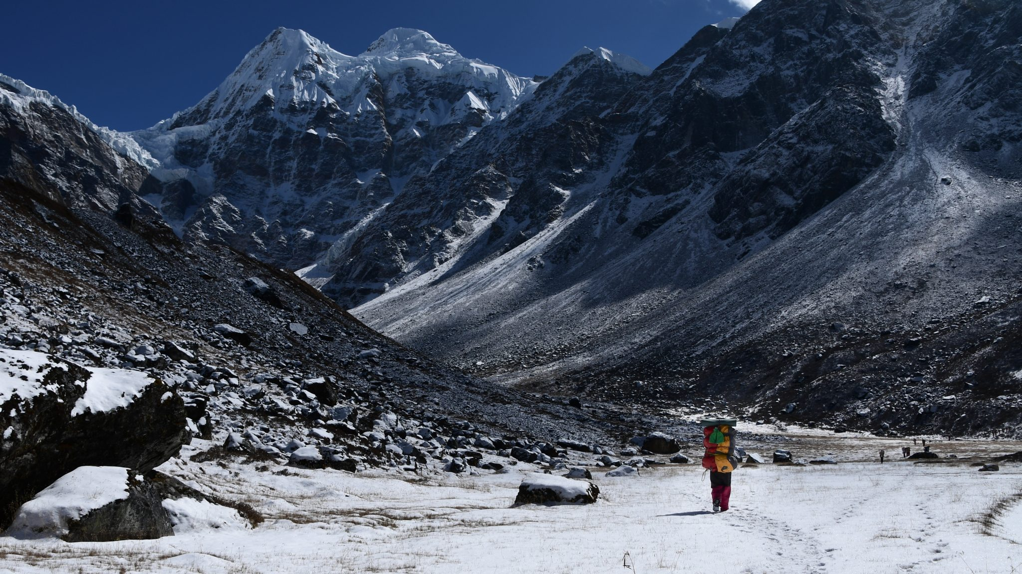 Guided expedition to unclimbed peaks