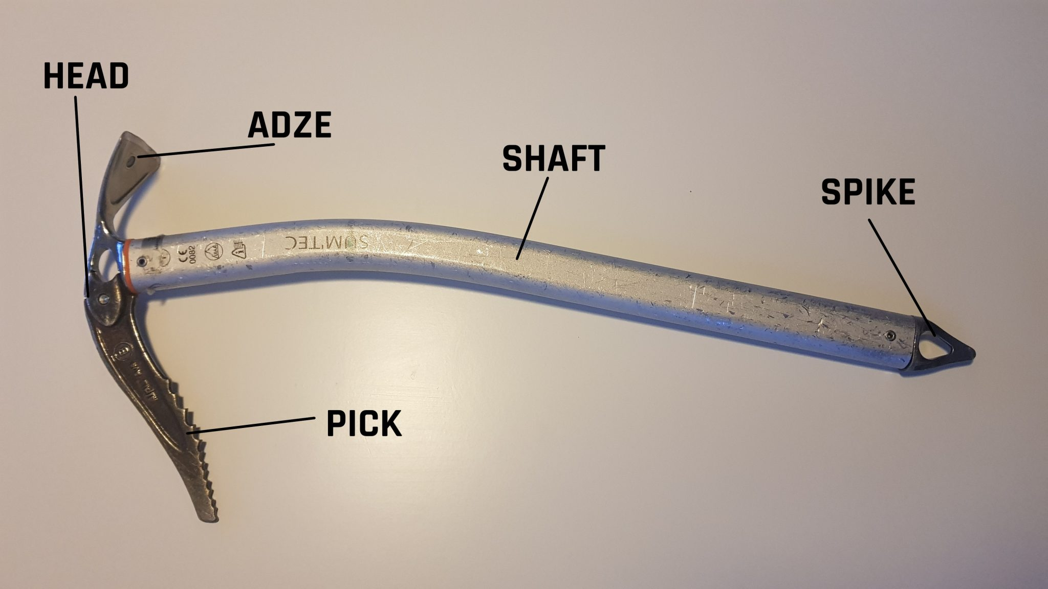 How to choose an ice axe