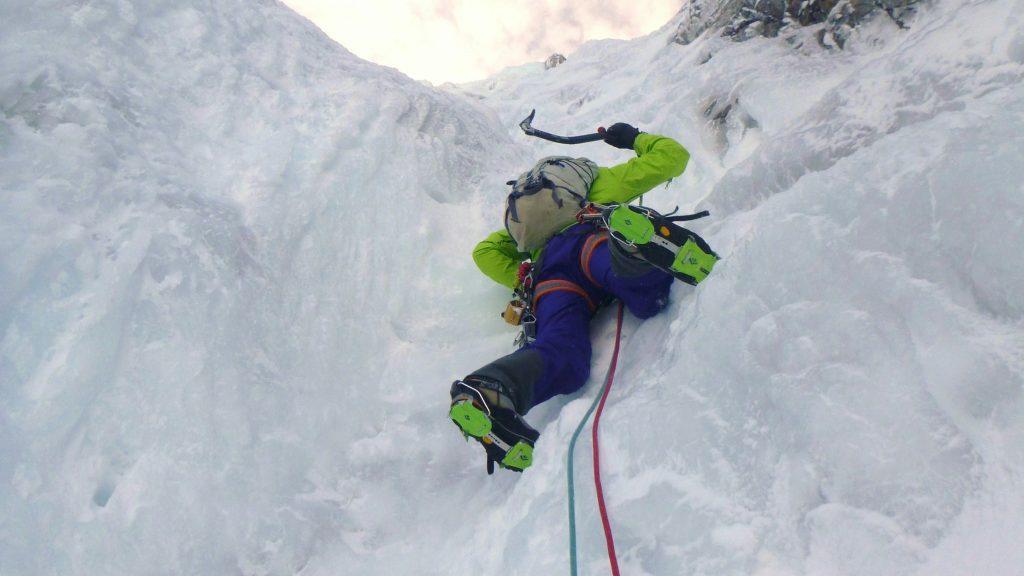 Performance winter climbing